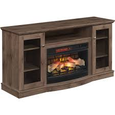 chimneyfree media electric fireplace for tvs up to 65 brown com