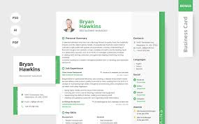Bryan Hawkins Restaurant Manager Resume Template 64864