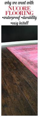 why we opted for nucore flooring