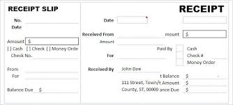 Free Cash Receipt Slip Template Money Format In Word Doc – Iinan.co