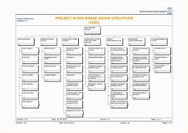 Professional Schedule Template 021 Work Breakdown Structure Template For Project Management