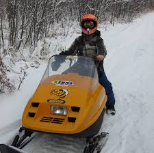 this young member of the lee river snow riders is proud to live in such a