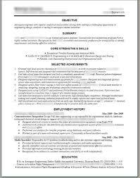 Aeronautical Engineer Sample Resume Uxhandy Com