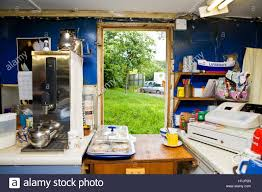 Kitchen Snack Bar The View From Annies Tea Bar Kitchen Window An Old Caravan