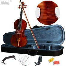 Vilolin <b>4/4 Full Size</b> Antique Fiddle <b>Natural</b> Acoustic With Case Bow ...
