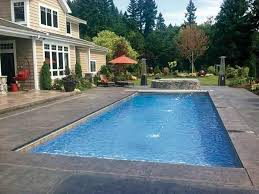 Fiberglass Swimming Pool Designs Custom Decoration