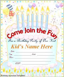 Free Birthday Invitation Templates With Photo Card Birthday Invitations Birthday Card Invitation Template Free