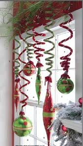 office party decoration ideas. Velvety Spiral Ornaments That Can Be Stretched To Hold Balls Finials. Ugly\u2026 Office Party Decoration Ideas