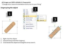 Band Aid Size Chart Band Aid First Aid Icon Powerpoint Templates Powerpoint