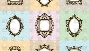 Antique mirror frame tattoo Art Nouveau Filigree Old Fashioned Clock Wooden Round Glass Antiqued Frame Tattoo Enchanting Frames Lar Tiles Set Antique Decor Tucadivi Old Fashioned Clock Wooden Round Glass Antiqued Frame Tattoo