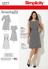 Simplicity Patterns On Sale Stunning Simplicity Pattern S48 Amazing Fit Dress Miss Plus Jaycotts