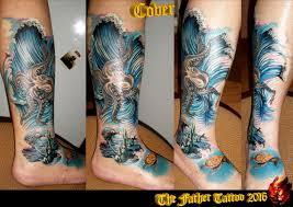 Tetování Chobotnice Tetování Tattoo