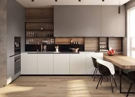 Modern Kitchen Shelves Design Zarichnyj_2 On Behance Modern Kitchen Interiors Kitchen
