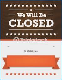 Holiday Closing Signs Templates Ctcomputers Us