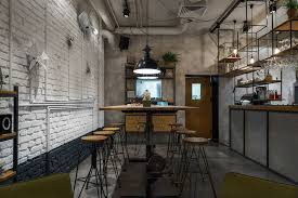 current furniture trends. Unique Furniture Furniture Cafe With Modern Industrial Style That Current Trends  Interior  Design Of An Industrial On G