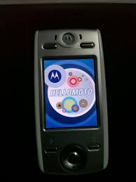Motorola E680i Vintage