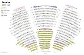 Balcony And Lower Level Seating Chart For Malt Shop Memories