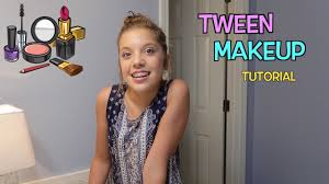 back to tween makeup tutorial