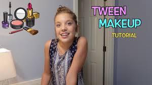 back to tween makeup tutorial