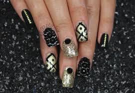 Black Nail Art Design   NailArtDiy.com