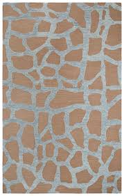 details about rizzy rugs giraffe safari skin spotted contemporary area rug animal print ls189a