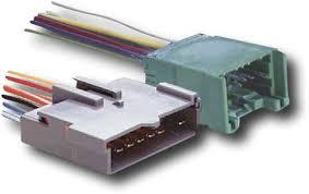 metra turbokits aftermarket radio wire harness adapter for metra turbokits aftermarket radio wire harness adapter for select ford vehicles black 70