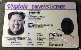 Fake Virginia Maker Id-chief Cards Scannable Id