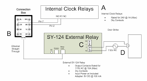 atlas access control this diagram depicts the proper wiring of the sy 124 external relay for use an electronic door strike the sy 124 external relay is intended for those