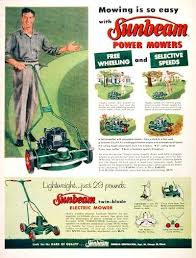 Lawn Mowing Ads Pop Quiz From What Year Is This Lawn Mower Ad 1956 1957