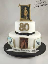 80th Birthday Ideas For Men Cake Love How They Personalized This One