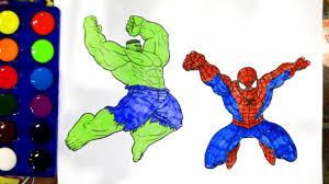 Человек паук Халк дети классные поделки раскраски книга с ...