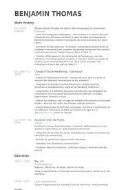Responsable Projets De Veille Technologique Et Animation Resume samples