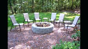 around fire pits patio sunshiny how to make a pea gravel