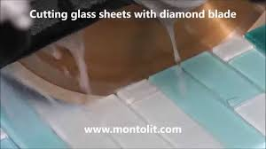 cutting glass tiles glass sheetosaic with diamond blade you