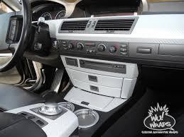 Sport Series 2004 bmw 745li : bmw 745 7 series custom console interior vinyl wray grey Carbon ...