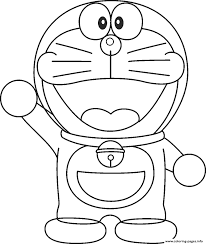After gathering robot parts that fall mysteriously from the sky, the giant robot, zanda claus, is soon… Cartoon S Doraemonb04e Coloring Pages Printable