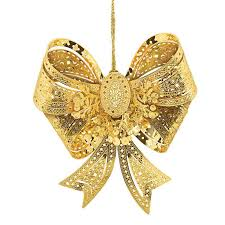 The 2017 Gold Ornament Collection - bow