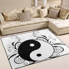 Use7 Yin Yang Zen Culture Teppich Teppich Teppich Fuumlr
