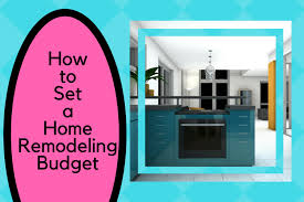 Home Remodeling Budget Creating Your Renovation Finance Plan Custom Kitchen Remodeling Costs Set