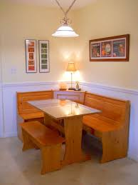 Kitchen Nook Furniture Set Kitchen Narrow Kitchen Nook Table With Plaid Banquette Bench And