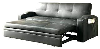 leather couch with pull out bed leather pull out sofa bed image of pull out couch