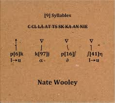 The phonetic alphabet used for confirming spelling and words is quite different and far more complicated to the phonetic alphabet used to confirm pronunciation and word sounds , used by used by linguists, speech therapists, and language teachers, etc. The Free Jazz Collective Nate Wooley 9 Syllables Mnoad 2013