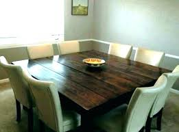 square dining table with leaf. Square Table With Leaf Dining Seats 8 . E