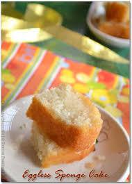 Eggless Vanilla Sponge Cake Yogurt Cakes Eggless Vanilla Sponge