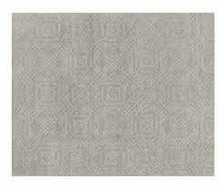 details about crate and barrel tufted azulejo grey modern 5x8 6x9 8x10 9x12 wool area rug