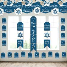 We have some best of galleries to find brilliant ideas, whether these images are stunning. Happy Passover Wall And Door Hanging Decor Pesach Jewish Holiday Party Room Decoration Kit Bigdotofhappiness Com