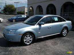 2008 Light Ice Blue Metallic Mercury Sable Premier Sedan #4053771 ...