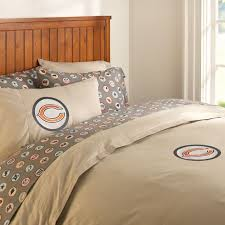 chicago bears duvet cover full queen charcoal