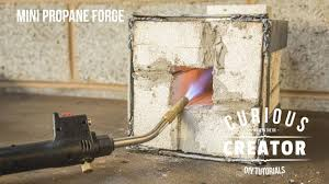 31 mini propane knife forge diy how to