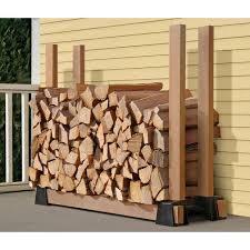 super easy diy firewood racks 2